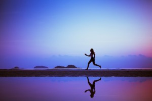 running picture