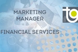 Marketing Manager 2/3 days per week – Financial Services