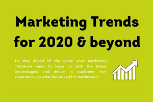 Marketing Trends for 2020 & beyond